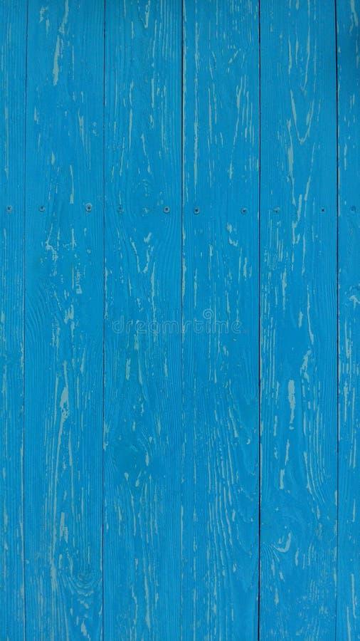 Puerta azul tarjeta Textura de madera fotos de archivo