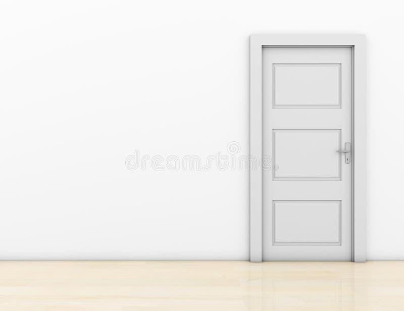 A puerta cerrada fotos de archivo