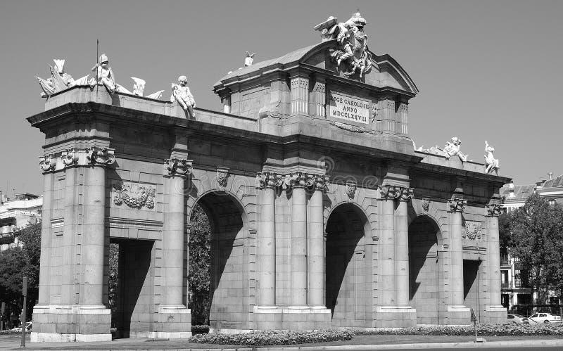 Download Puerta de Alcala stock photo. Image of lance, sculpture - 19885870