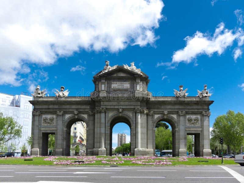 Download Puerta De Alcala Stock Photography - Image: 24656322