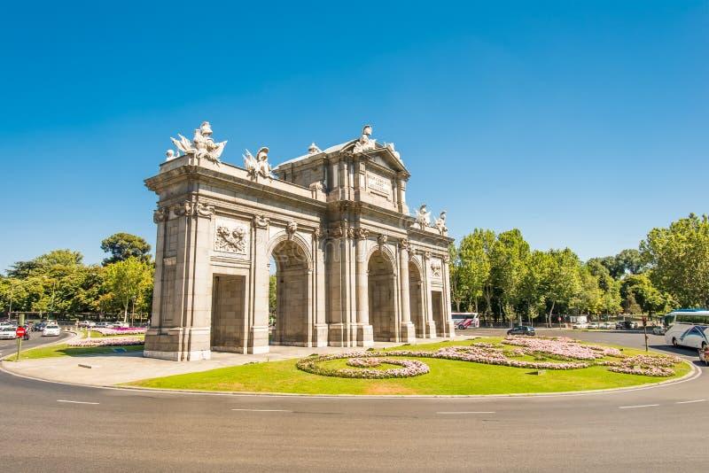 Download Puerta de Alcala Madrid stock photo. Image of puerta - 26499728