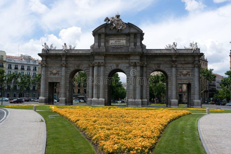 Download Puerta de Alcala in Madrid stock image. Image of puerta - 5394495