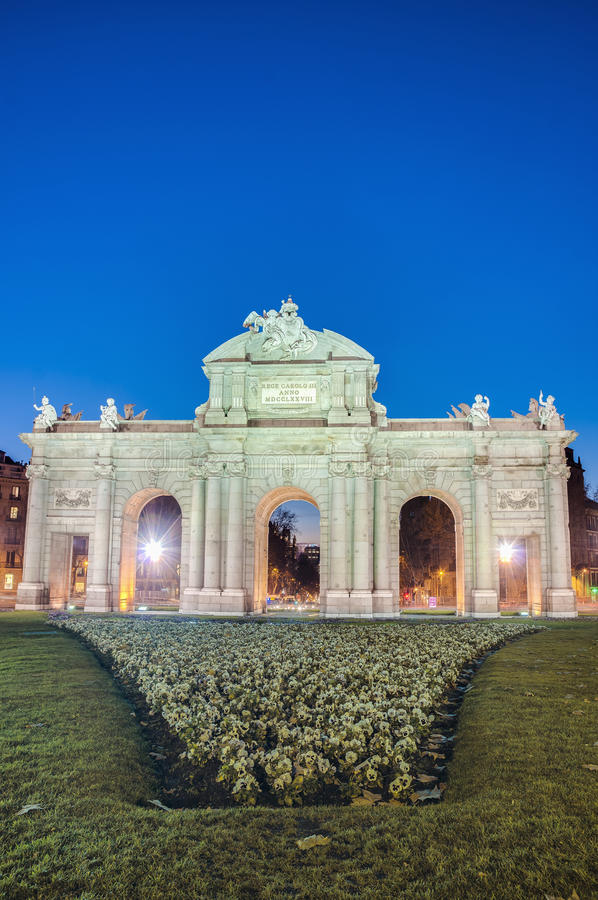 Download Puerta De Alcala At Madrid, Spain Stock Photo - Image: 25716916