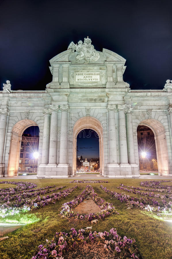 Download Puerta De Alcala At Madrid, Spain Stock Photo - Image of national, travel: 25831516
