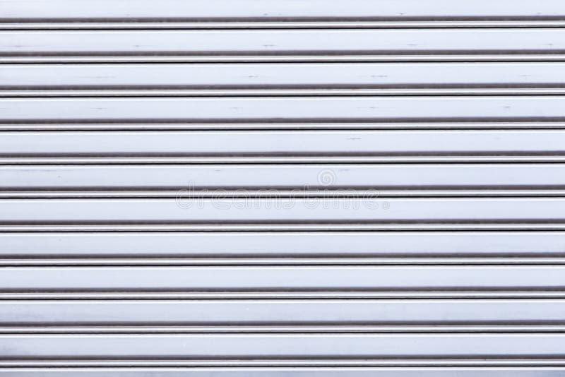 Puerta de aluminio imagen de archivo libre de regalías