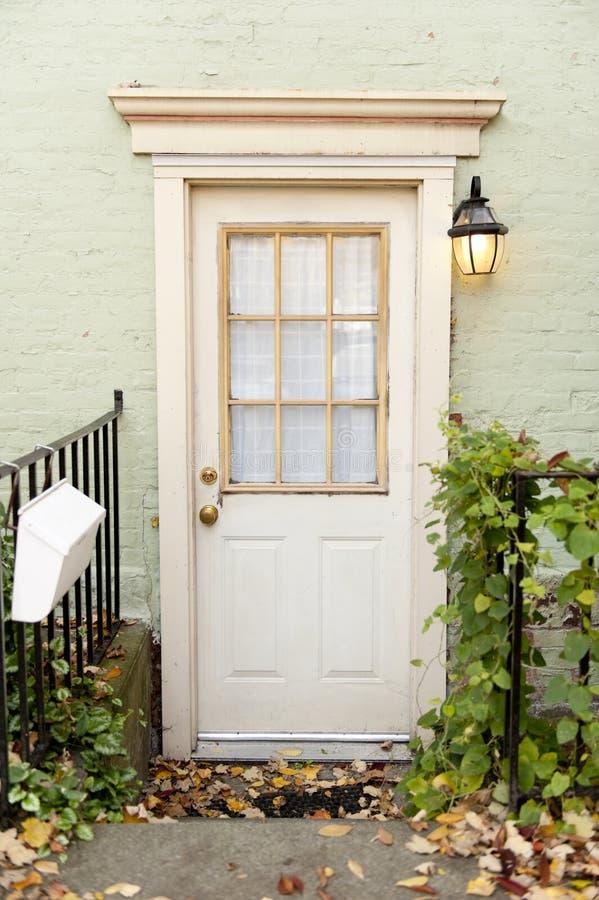 puerta de atrás foto de archivo
