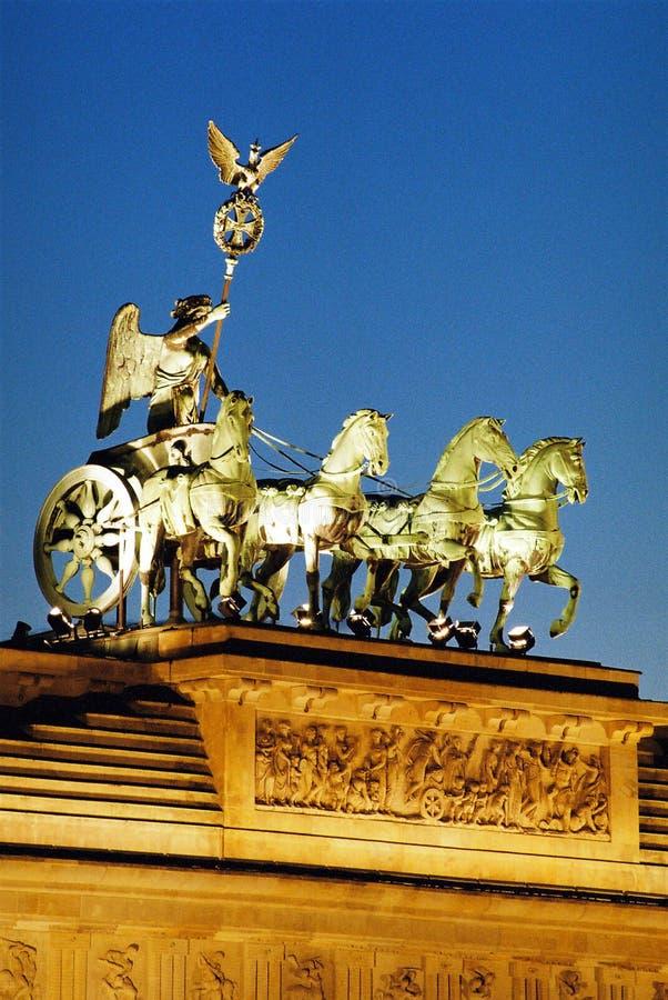 Puerta de Brandenburgo Berlín 2 imágenes de archivo libres de regalías