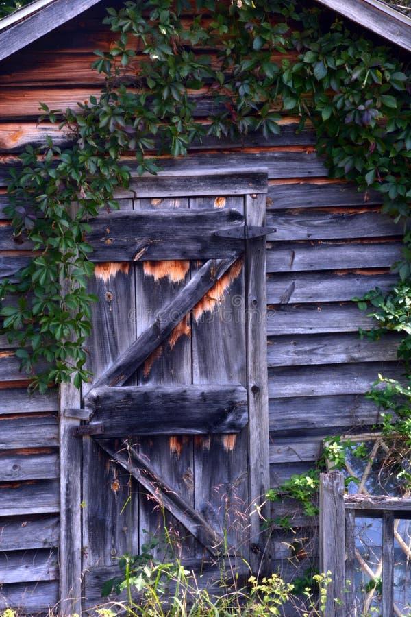 Puerta de cabina fotografía de archivo