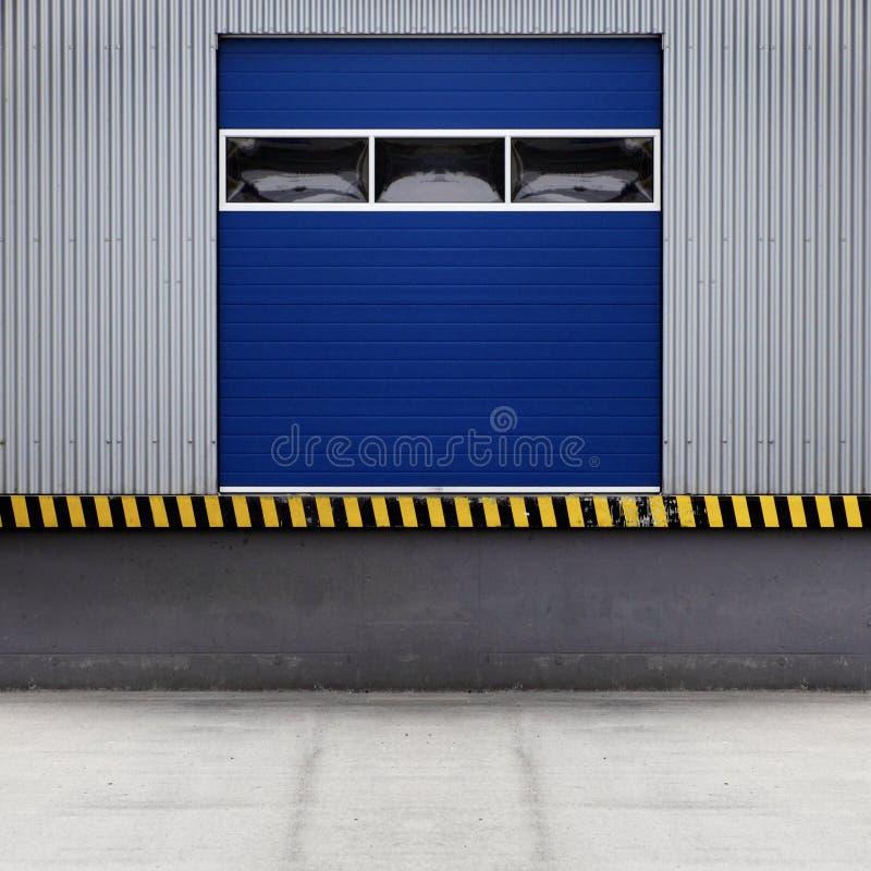 Puerta de carga imagen de archivo libre de regalías