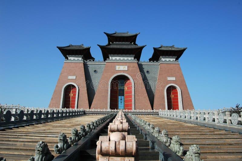 Puerta de China imágenes de archivo libres de regalías
