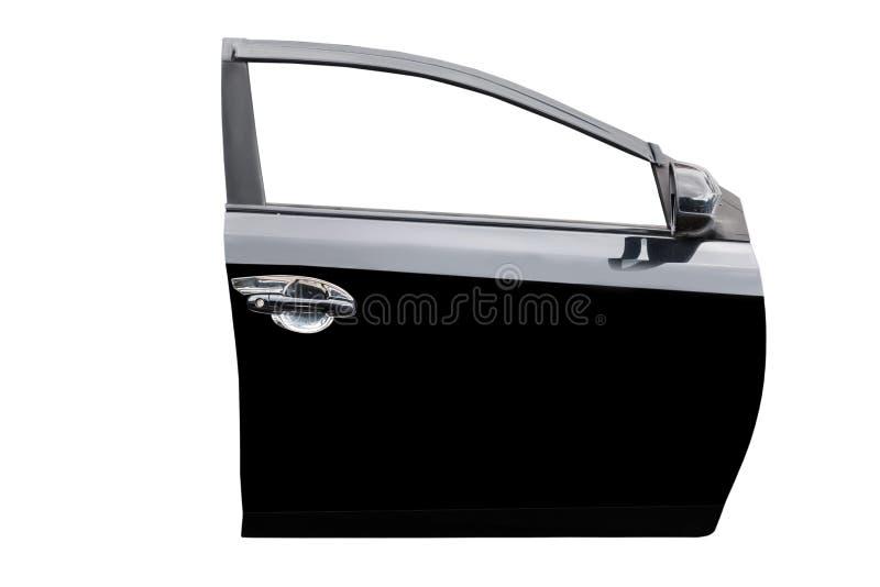 Puerta de coche negra imagen de archivo libre de regalías