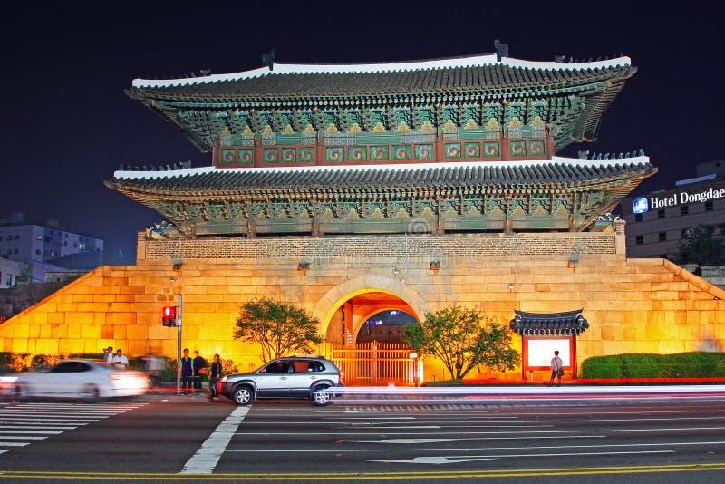 Puerta de Corea Seul Heunginjimun fotos de archivo libres de regalías