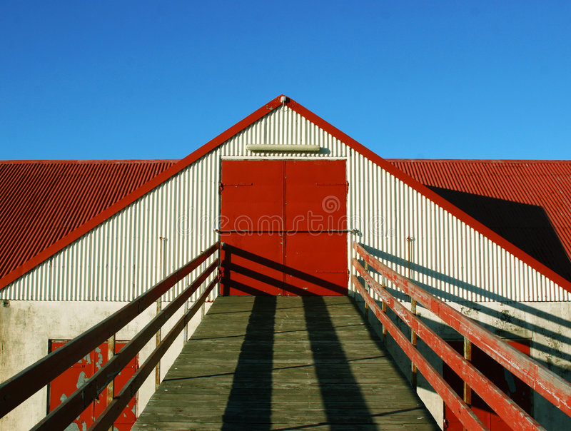 Puerta de granero imagen de archivo libre de regalías