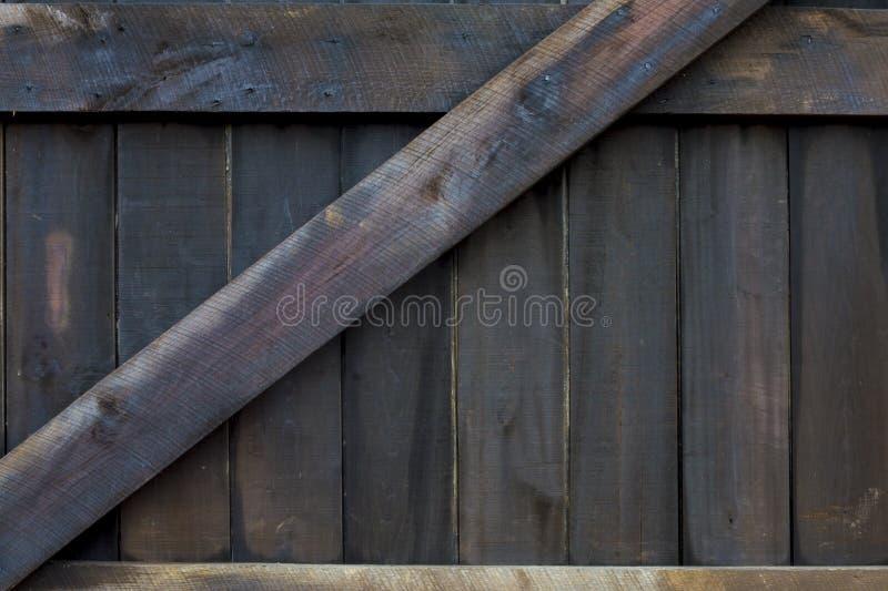 Puerta de granero ahumada imagen de archivo libre de regalías