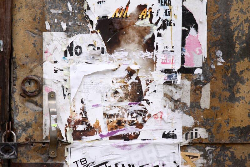 Puerta de Grunge imagen de archivo libre de regalías