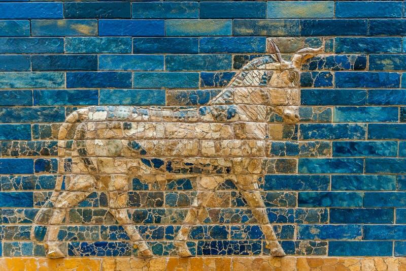 Puerta de Ishtar imagen de archivo libre de regalías