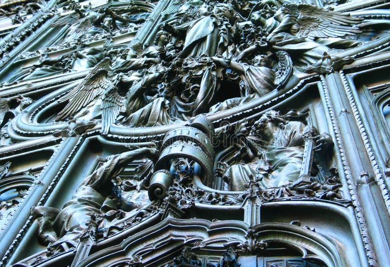 Puerta de la catedral fotos de archivo libres de regalías