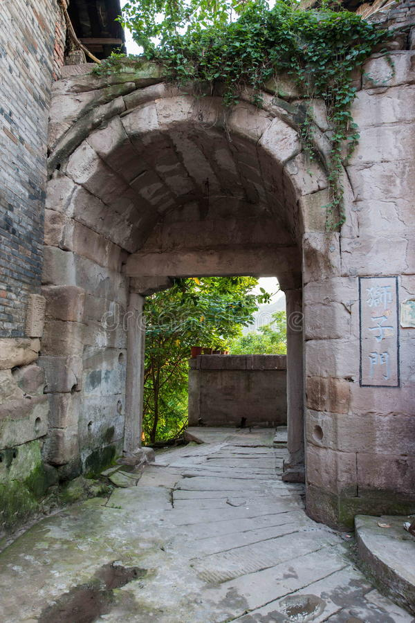Download Puerta De La Ciudad Antigua Del Agujero Del Camino De Puerta De Los Leones Imagen de archivo - Imagen de cultura, clásico: 42432239