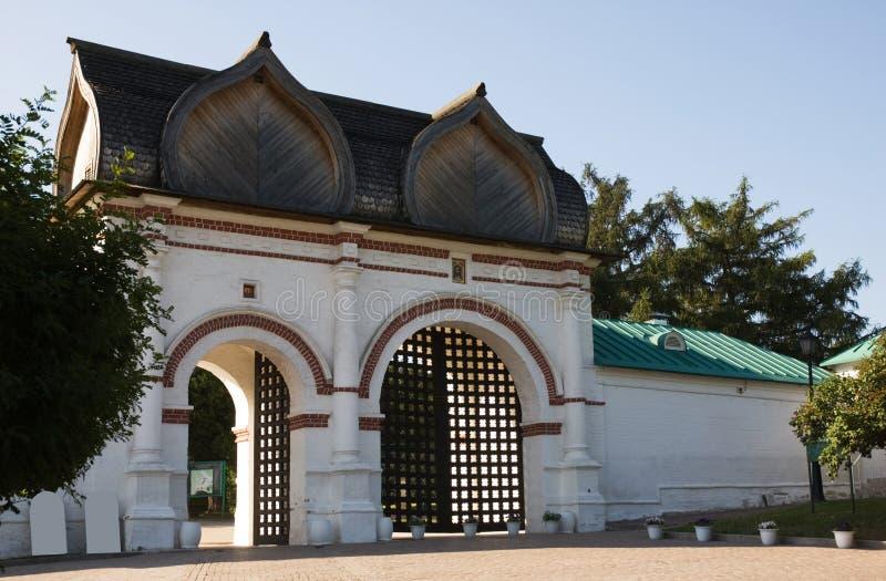 Puerta de la granja fotografía de archivo libre de regalías