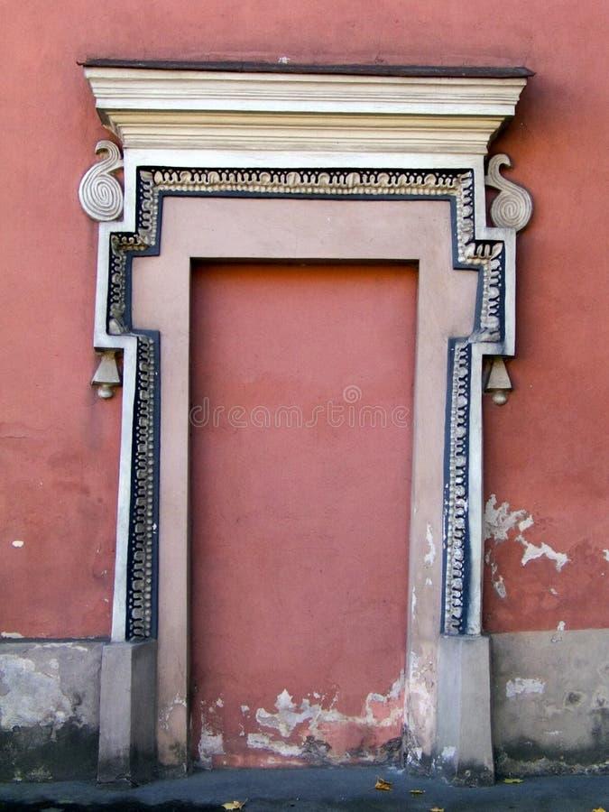 Puerta de la iglesia fotografía de archivo