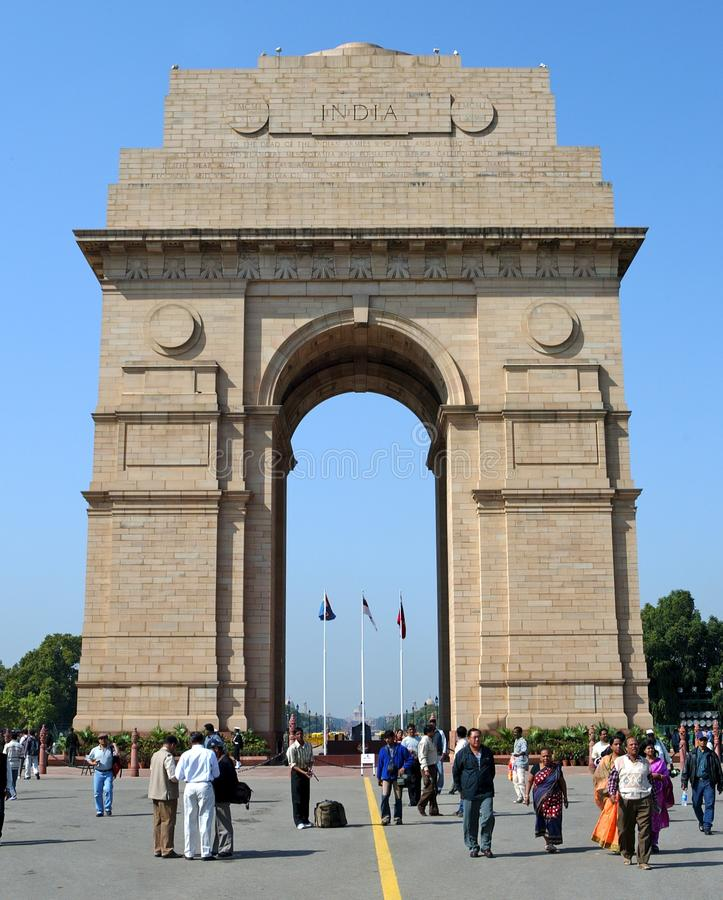 Puerta de la India imagenes de archivo