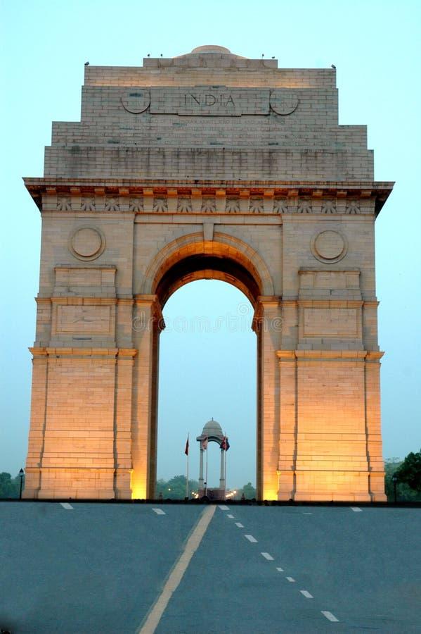 Puerta de la India. fotos de archivo