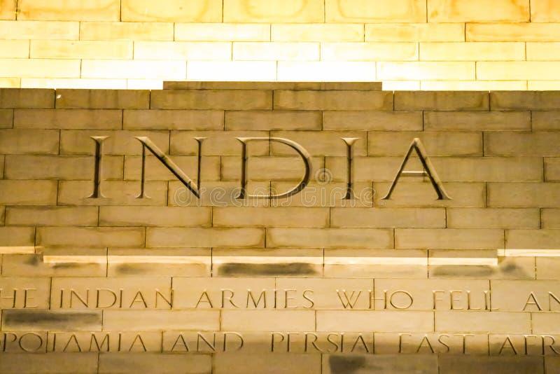 Puerta de la India imágenes de archivo libres de regalías