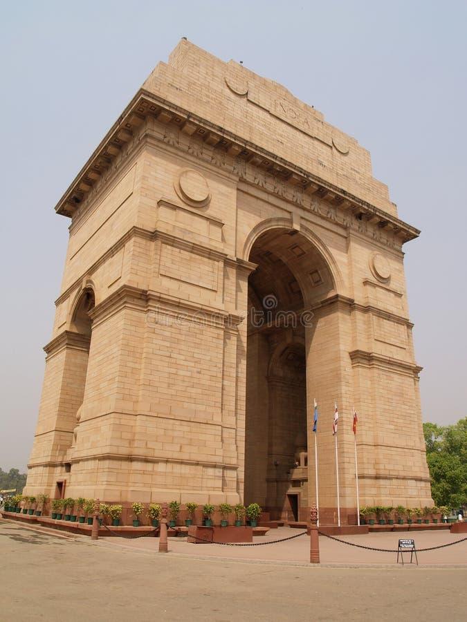 Puerta de la India en Nueva Deli fotografía de archivo