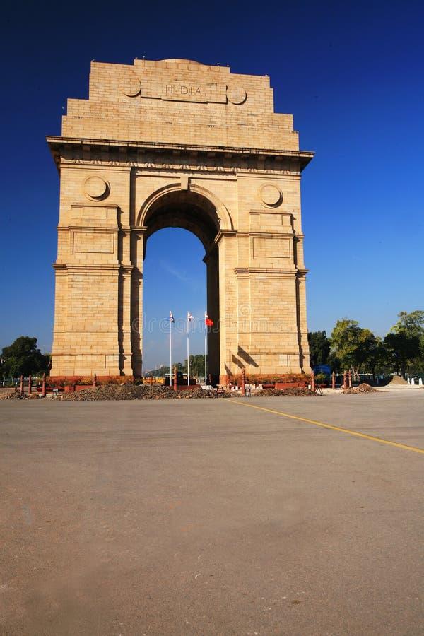 Puerta de la India en Nueva Deli, la India foto de archivo libre de regalías