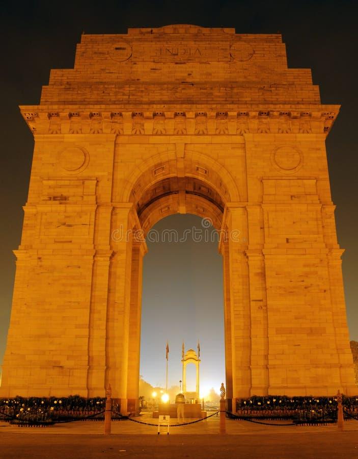 Puerta de la India, Nueva Deli foto de archivo
