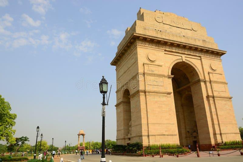 Puerta de la India, Nueva Deli, la INDIA imagen de archivo