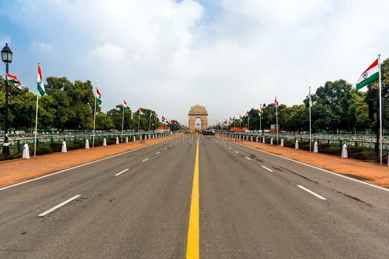 Puerta de la India, Nueva Deli, la India imagenes de archivo