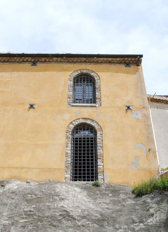 Puerta de la prisión foto de archivo