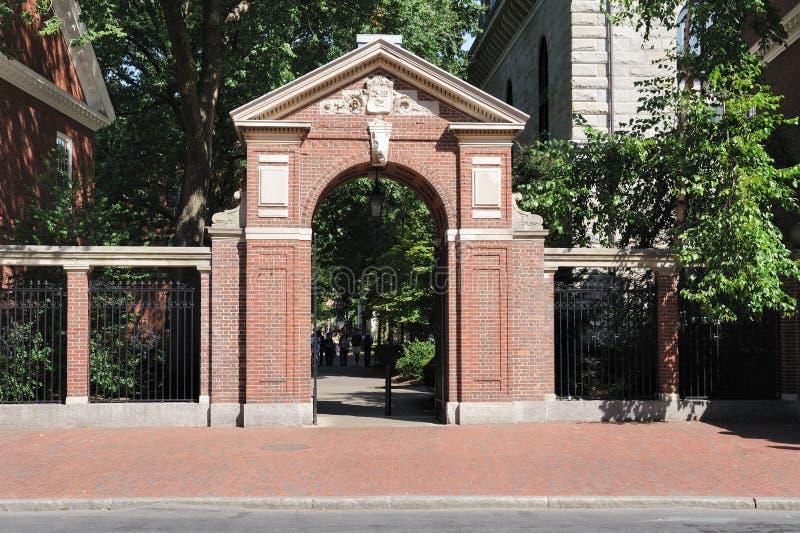 Puerta de la universidad fotos de archivo