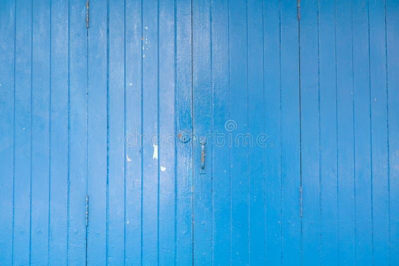 puerta de madera azul fotografía de archivo libre de regalías