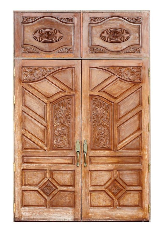 Puerta de madera con textura antigua en blanco fotograf a - Puertas de madera en blanco ...