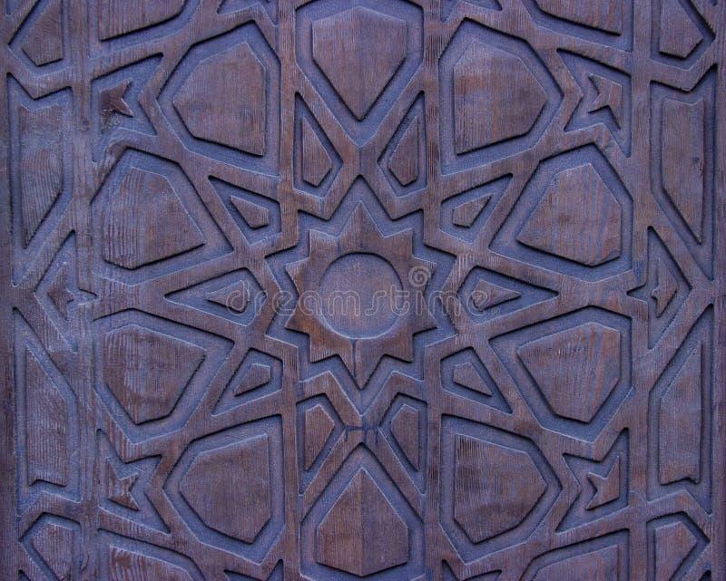 Puerta de madera del vintage imagenes de archivo