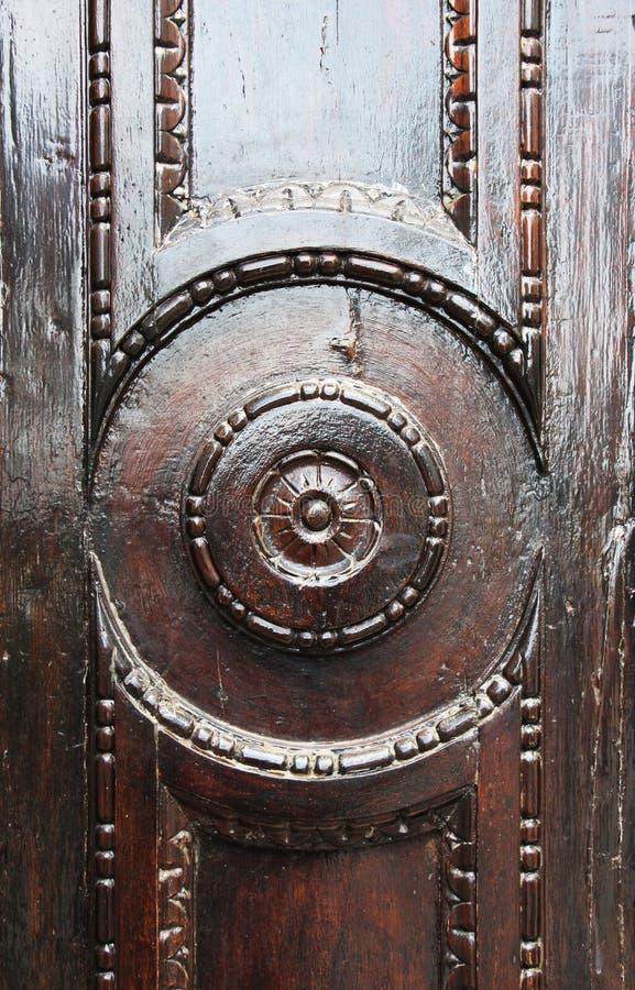 Puerta de madera verde, detalle imagenes de archivo
