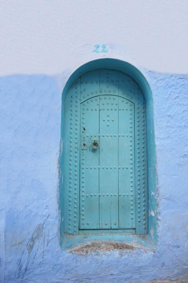 Puerta de Marruecos fotografía de archivo