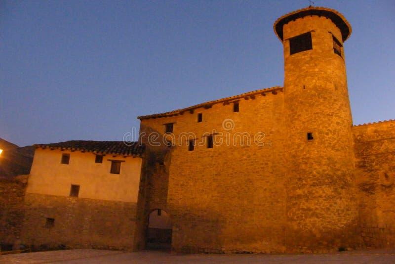 Puerta de Mirambel imagenes de archivo