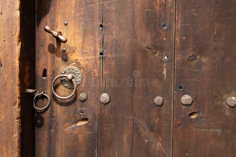 Puerta de Ornated foto de archivo libre de regalías