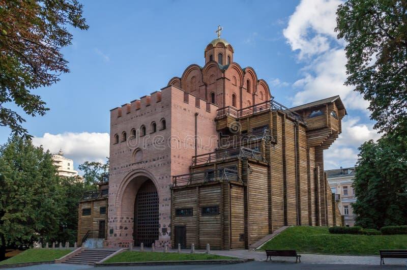Puerta de oro en Kiev, Ucrania imagenes de archivo