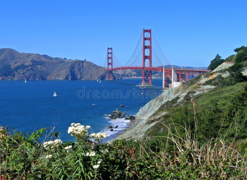 Puerta de oro, San Francisco imagen de archivo