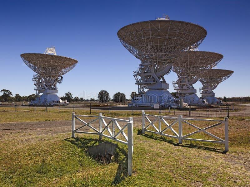Puerta del arsenal de antenas del CSIRO 4 imagenes de archivo