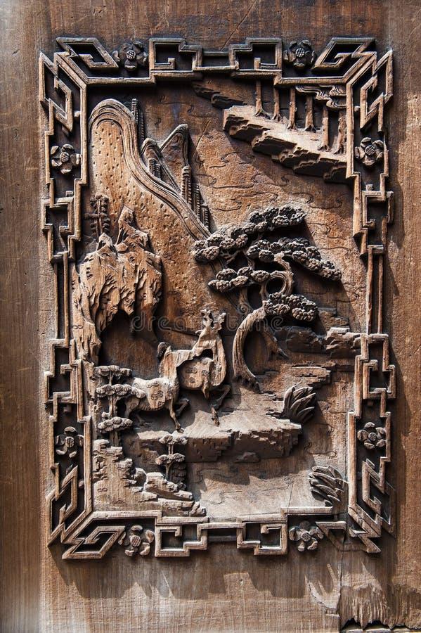 Puerta del chino tradicional imagen de archivo libre de regalías