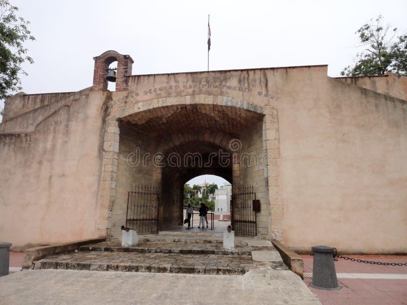 Puerta Del Conde stockbild