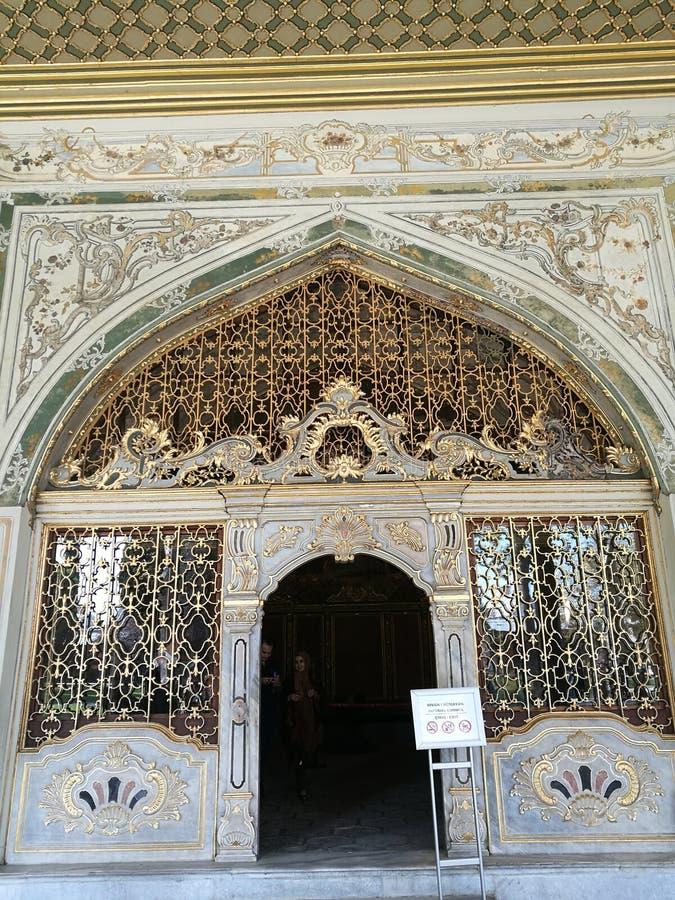 Puerta del harén fotos de archivo libres de regalías