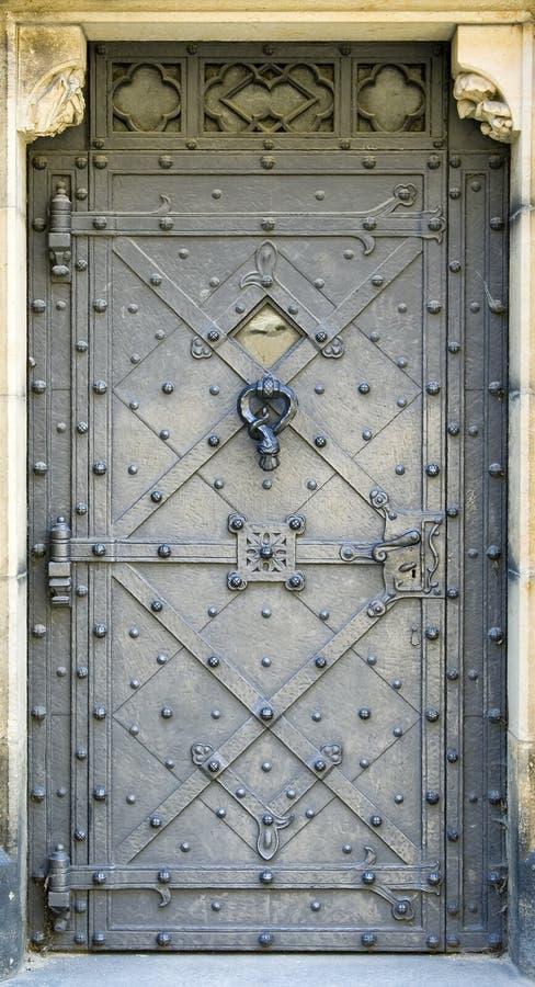 Puerta del metal imágenes de archivo libres de regalías