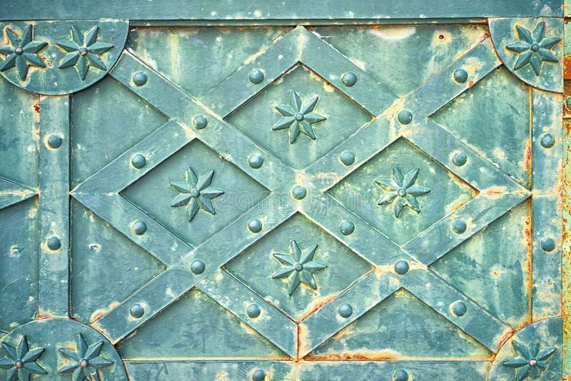 Puerta del metal imagen de archivo libre de regalías