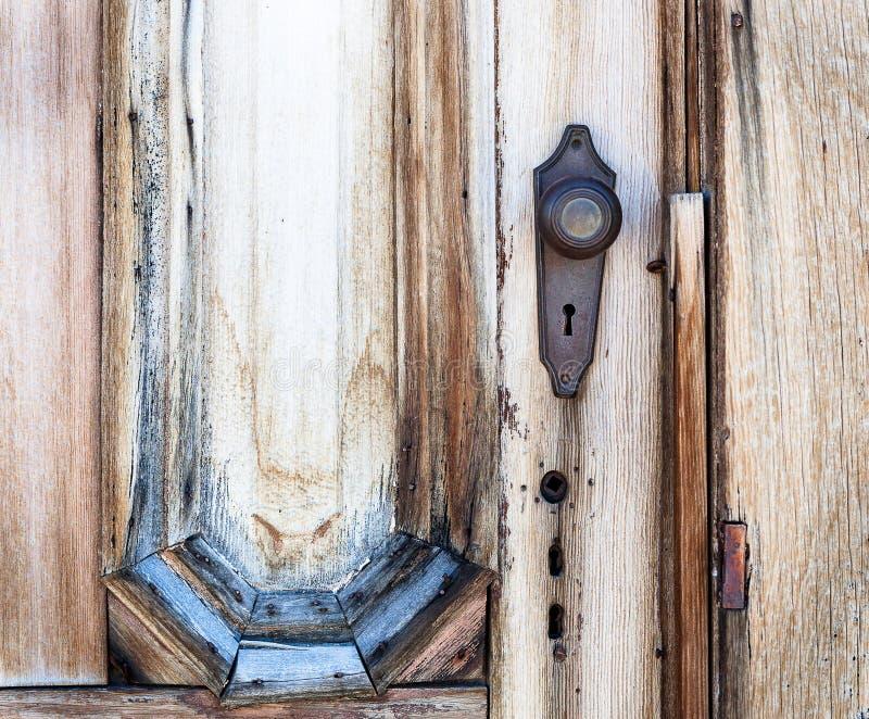 Puerta del pueblo fantasma foto de archivo libre de regalías